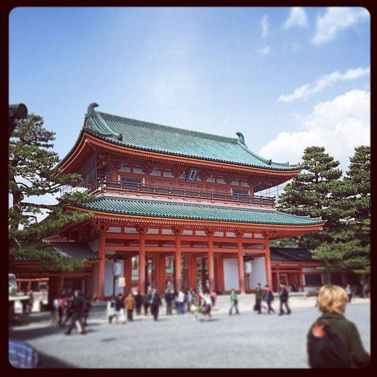 heian shrine kyoto