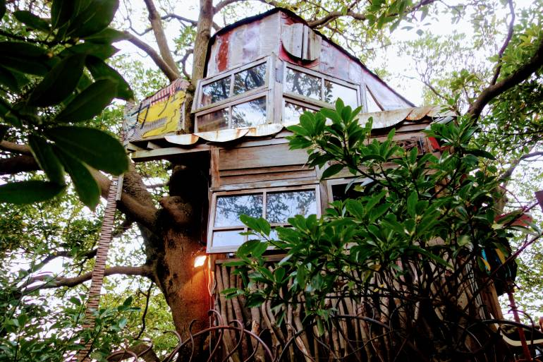 Nanjya Monjya Treehouse Cafe