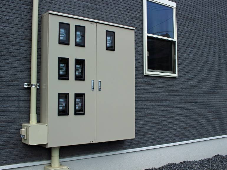 Modern electricity boxes