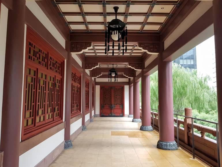 2nd floor of the Okura Museum veranda