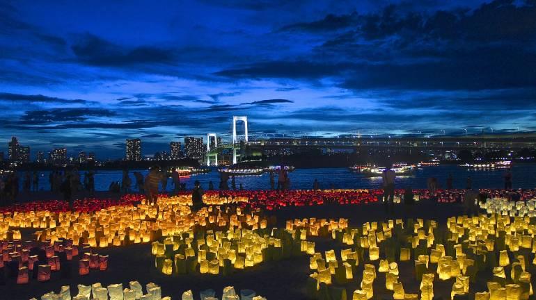 marine lantern festival odaiba