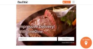 Fine Dine Food Delivery Screenshot