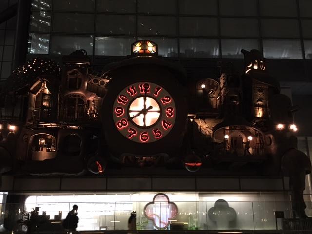 Ghibli Giant Clock