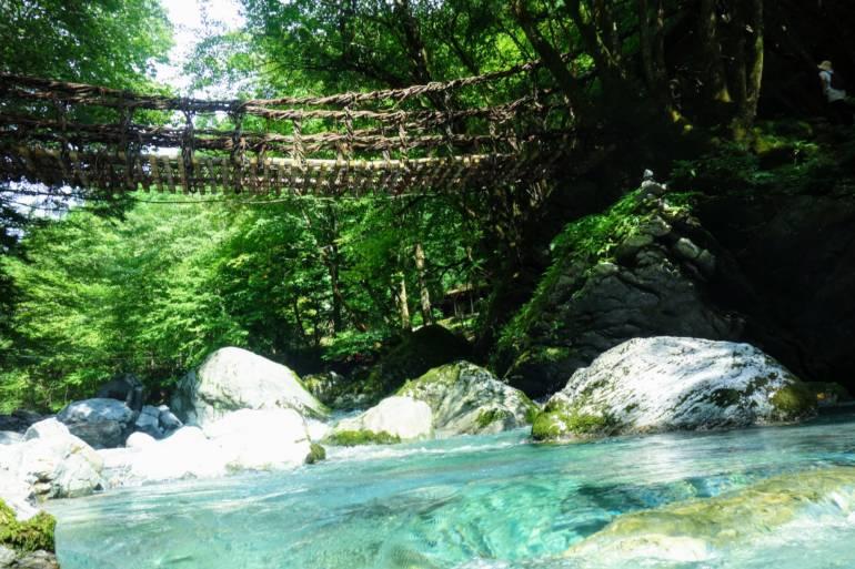 Iya Valley Vine Bridge Water