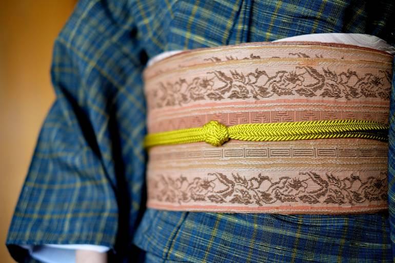 Kimono Close Up