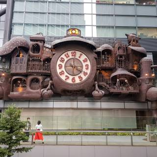 Giant Ghibli Clock