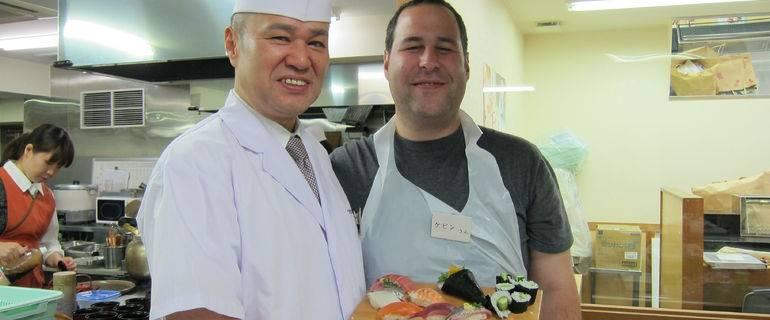 See Tsukiji Fish Market and Make Your Own Sushi