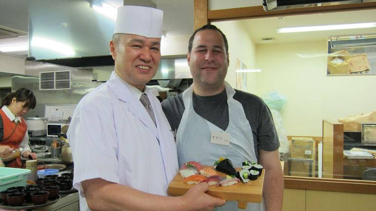 my-husband-with-the-sushi-he-made-and-the-chef-teacher-photo_7767133-770tall