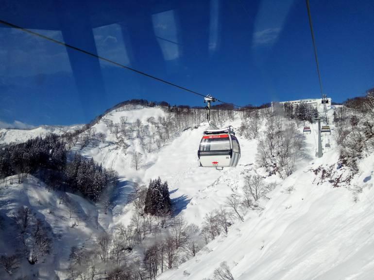 A gondola at Gala Yuzawa
