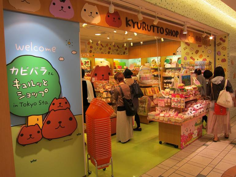 Character Street Tokyo Station things to do around tokyo station