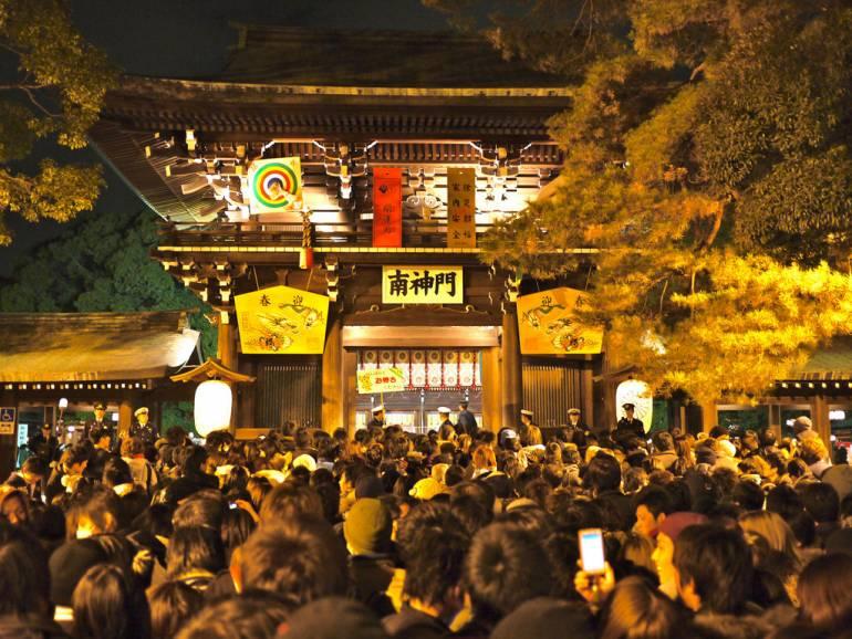 Meiji Jingu New Year