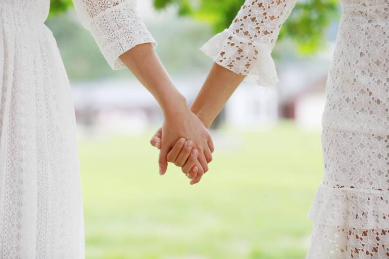 same sex wedding japan