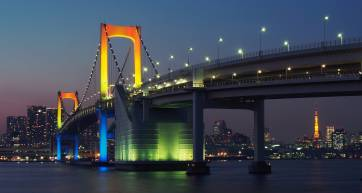 2ff8efd1d Walking the Rainbow Bridge for One of the Best Views of Tokyo