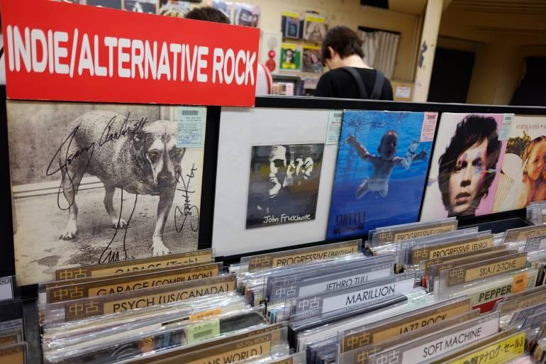 shibuya record stores