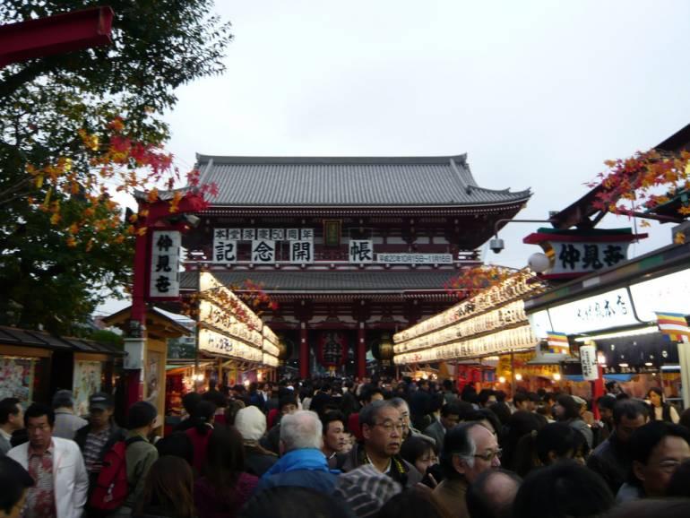 Tokyo Walking routes