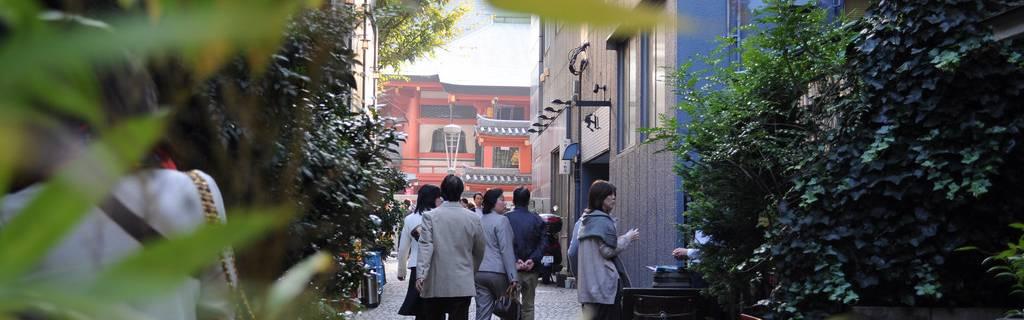 Top 3 (Short) Urban Walking Routes in Tokyo