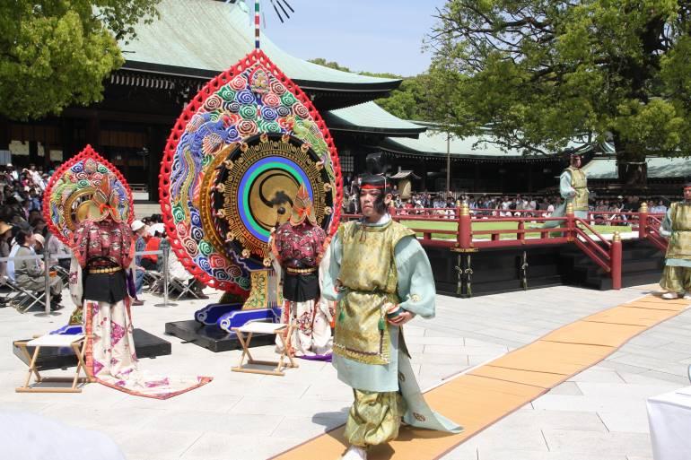 Meiji Shrine Spring Grand Festival, Late Apr–Early May, 2020