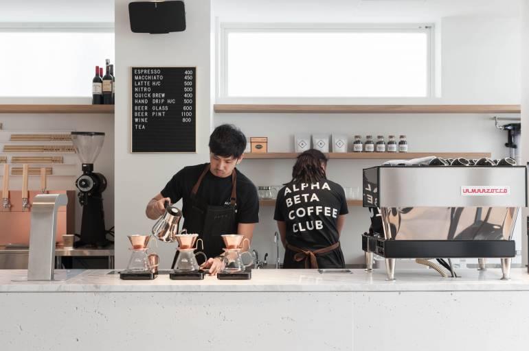 Alpha Beta Coffee Club tokyo