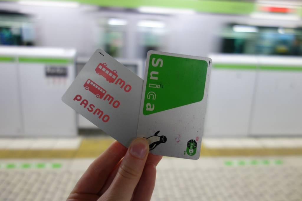 Suica Pasmo Travel IC Card