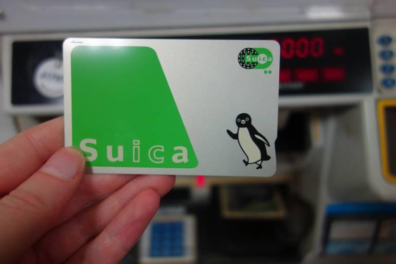 a suica card