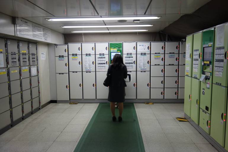 Station Lockers