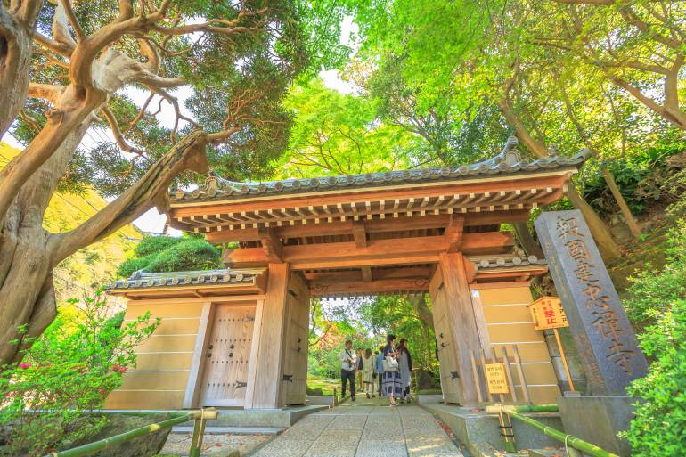 Hokokuji temple Kamakura