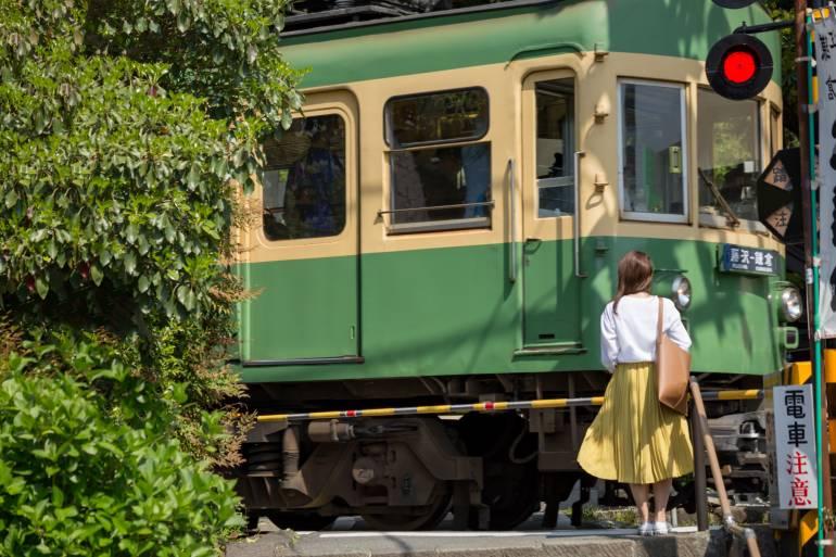 Kamakura Enoden Train