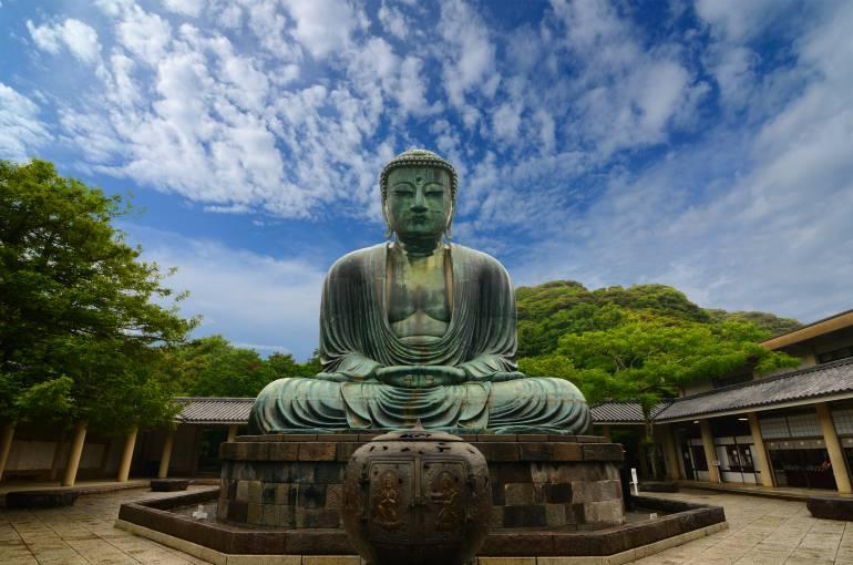 Daibutsu Great Buddha of Kamakura at Kotokuin Temple