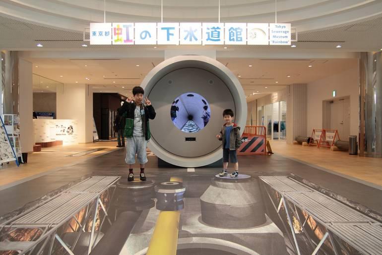 Sewerage Museum Tokyo