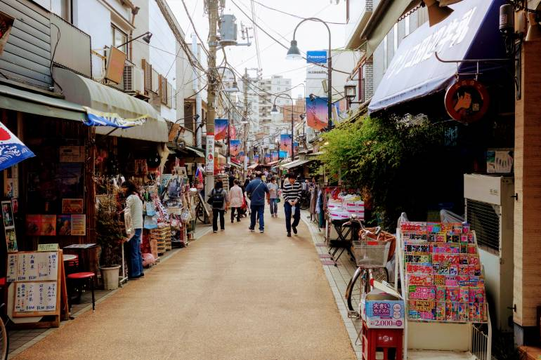 Yanaka Street Shot