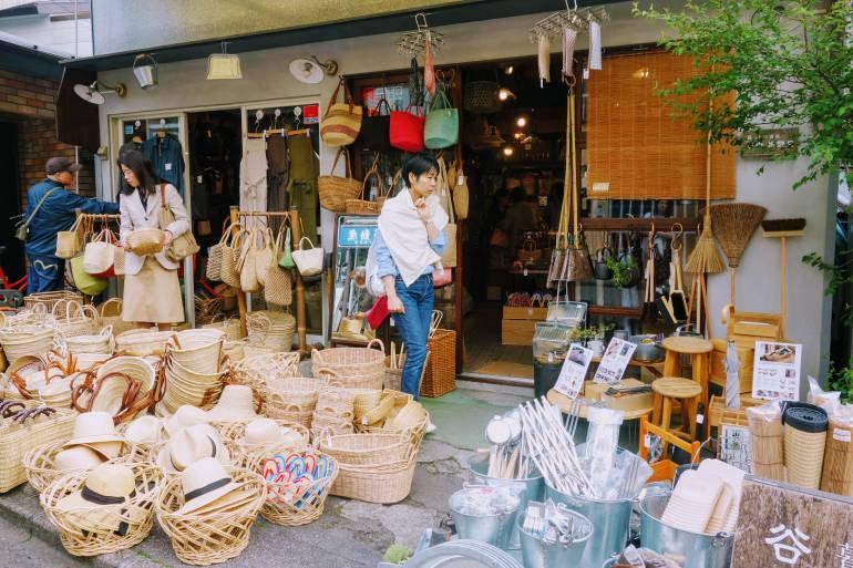 Yanaka baskets