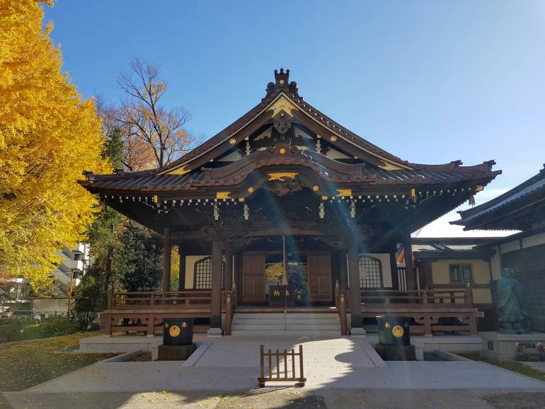 Shokaku-ji main hall
