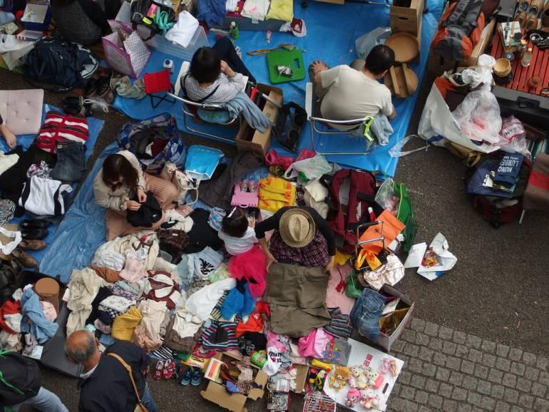Tokyo Flea Market at Yoyogi Park