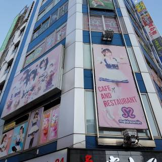 Maidreamin Akihabara Electric Town-exit Store
