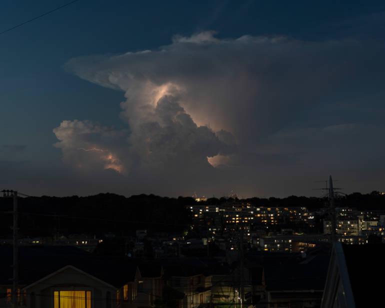 summer tokyo thundercloud