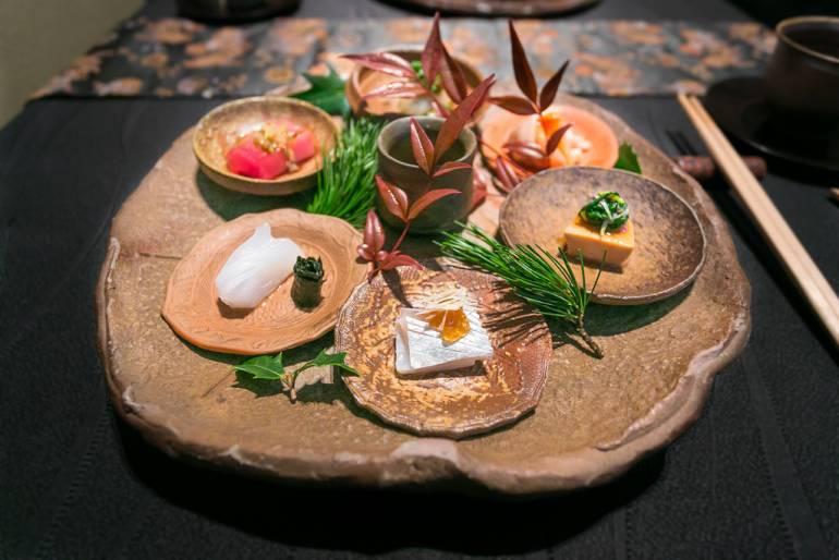 Gourmet cuisine in Tokyo