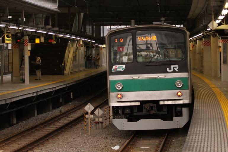 JR Saikyo Line at Osaki Station