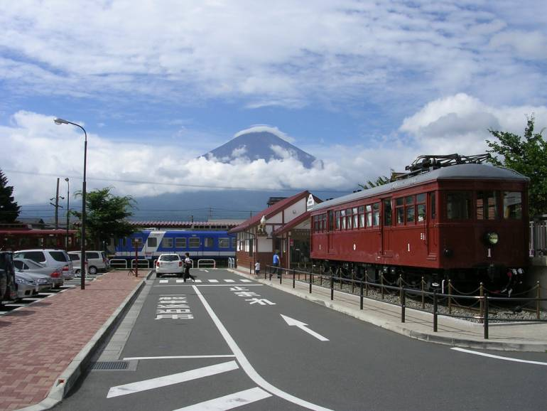 What you might see from Kawaguchiko Station