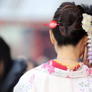 Kimono Fitting and Photoshoot