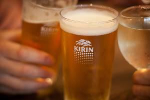 Kirin beer glasses