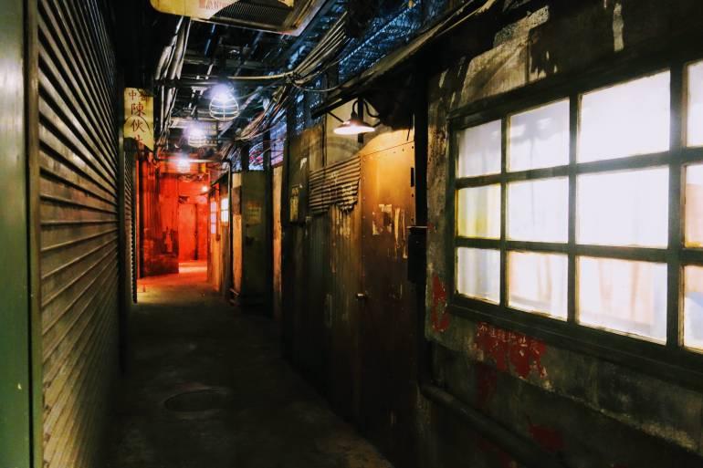 Anata No Warehouse Hallway
