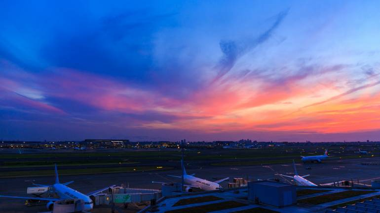 Haneda Sunset