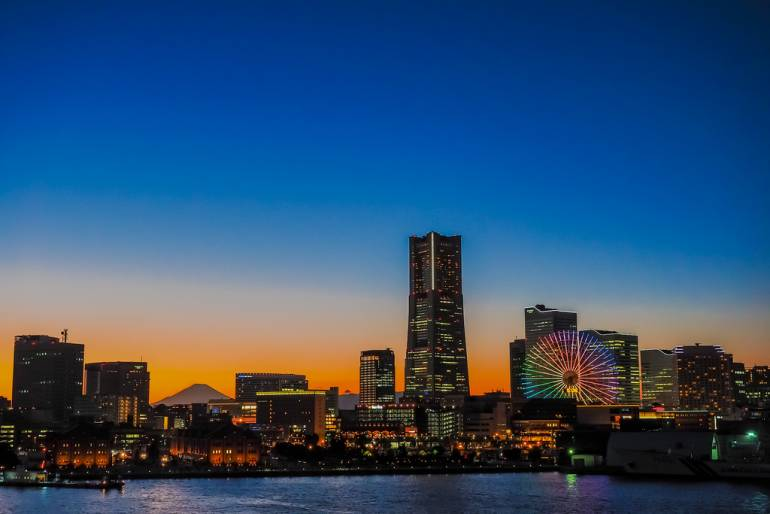 Osanbashi Sunrise