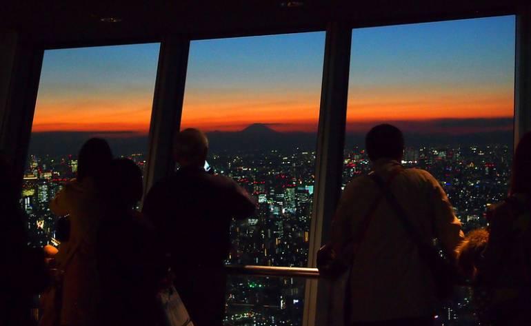 Tokyo Skytree Sunset