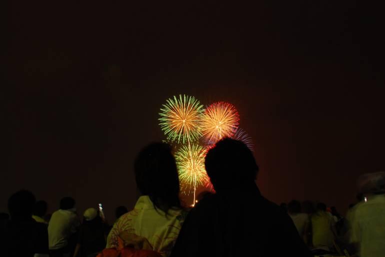 Yamashita Park Fireworks