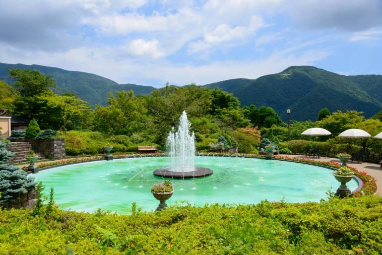 Gora Park fountain