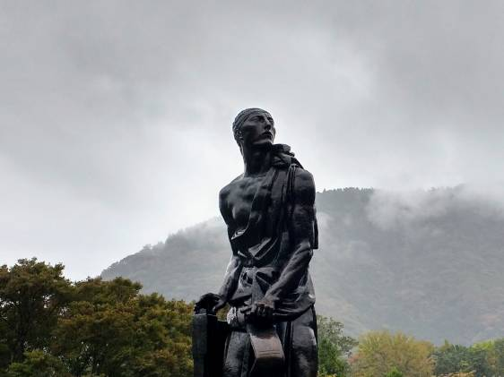 Statue at Hakone Openair Art Museum