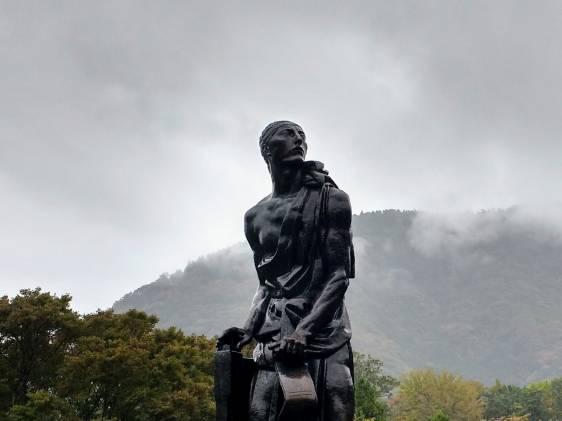 Statue at Hakone Openair Art Museum