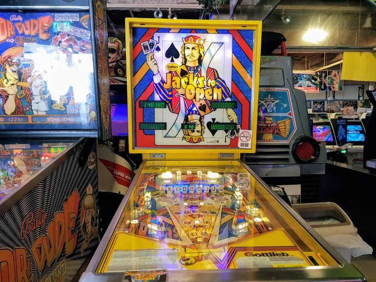 Mikado Pinball machines