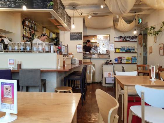 Tage Cafe Interior